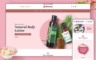 Blooming - OpenCart Theme for Online Cosmetics & Beauty Care