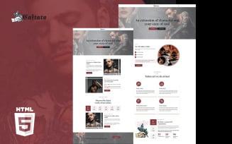 Craftato Art Studio HTML5 Website Template