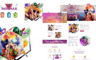 Monnak Entertainment Events HTML5 Template