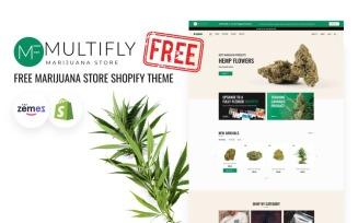Multifly Free Medical Marijuana Store Shopify theme