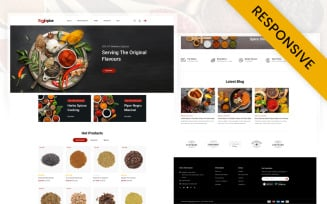 Royal Spice Store Opencart Responsive Template