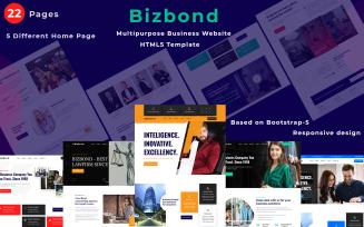 Bizbond - Multi Purpose HTML Business Template