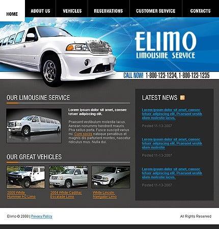 Creare site inchirieri limuzine