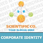 Science Corporate Identity Template 18556