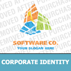 Software Corporate Identity Template 18558