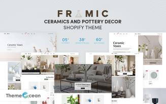 Framic - Ceramics & Pottery Decor Shopify Theme