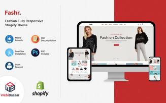 Fashr - Modern Fashion Shopify Template