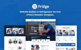 Fridge - Refrigerator HTML5 Website Template