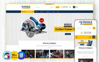Power Equipment Tools - PrestaShop Responsive Theme