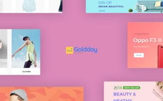 TM Goldday - Multistore for Hitech, Digital, Electronics PrestaShop Theme
