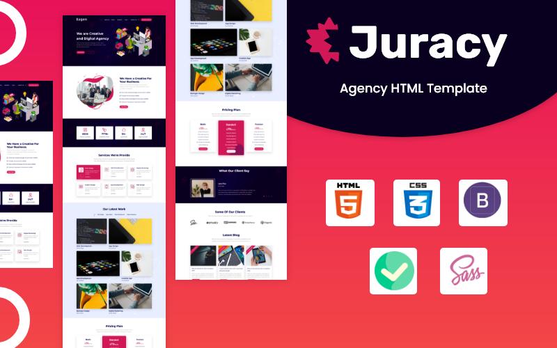 Juracy - Corporate Agency HTML Website Template