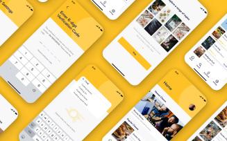 Edupi - E-Learning Mobile App UI Kit