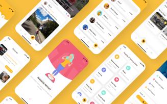 Hetrack - Health Care Mobile App Ui Kit