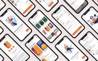 Lith - E-book store & E-reader App UI Kit