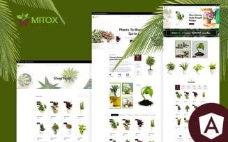 Mitox Gardening & Houseplants Angular Website Template