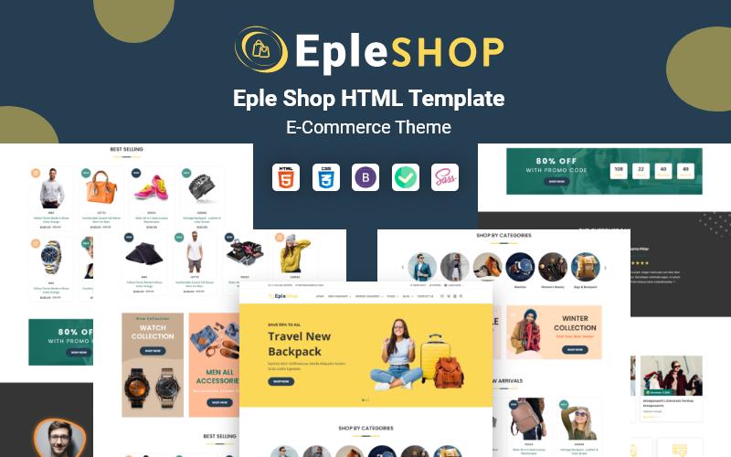 EpleShop - Multifunctionele HTML-sjabloon voor e-commerce