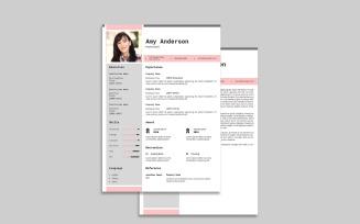 Anderson Printable Resume Template