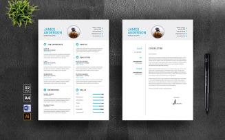 Masrur Modern Resume Template