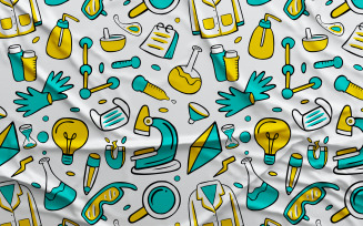 Science - Vector Seamless Pattern