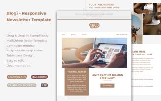 Blogi - Responsive Newsletter Template