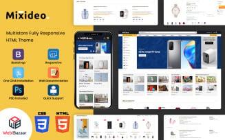 Mixideo - Universal Multipurpose Creative HTML Website Template