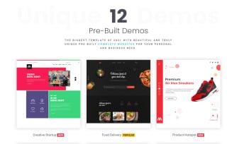 MostOne | One / Multi-Page HTML5 Multipurpose Template
