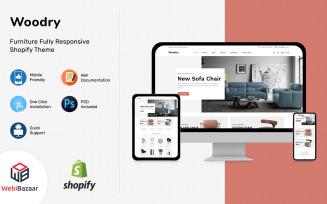 Woodry - Multipurpose Furniture & Interior Shopify Template