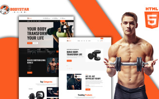 Bodystar - Gymnasium HTML Template