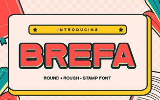 Brefa - Vintage San Serif Font