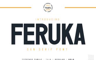Feruka - Modern San Serif Font