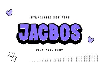 Jacbos - Elegant Playful Font