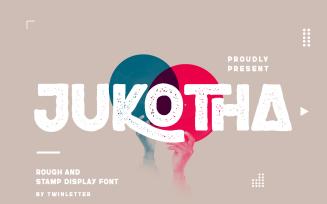 Jukotha - Vintage San Serif Font