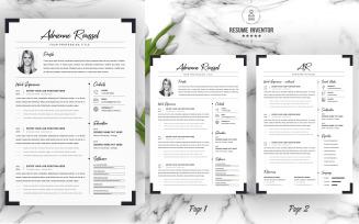 Roussel Printable Resume Templates