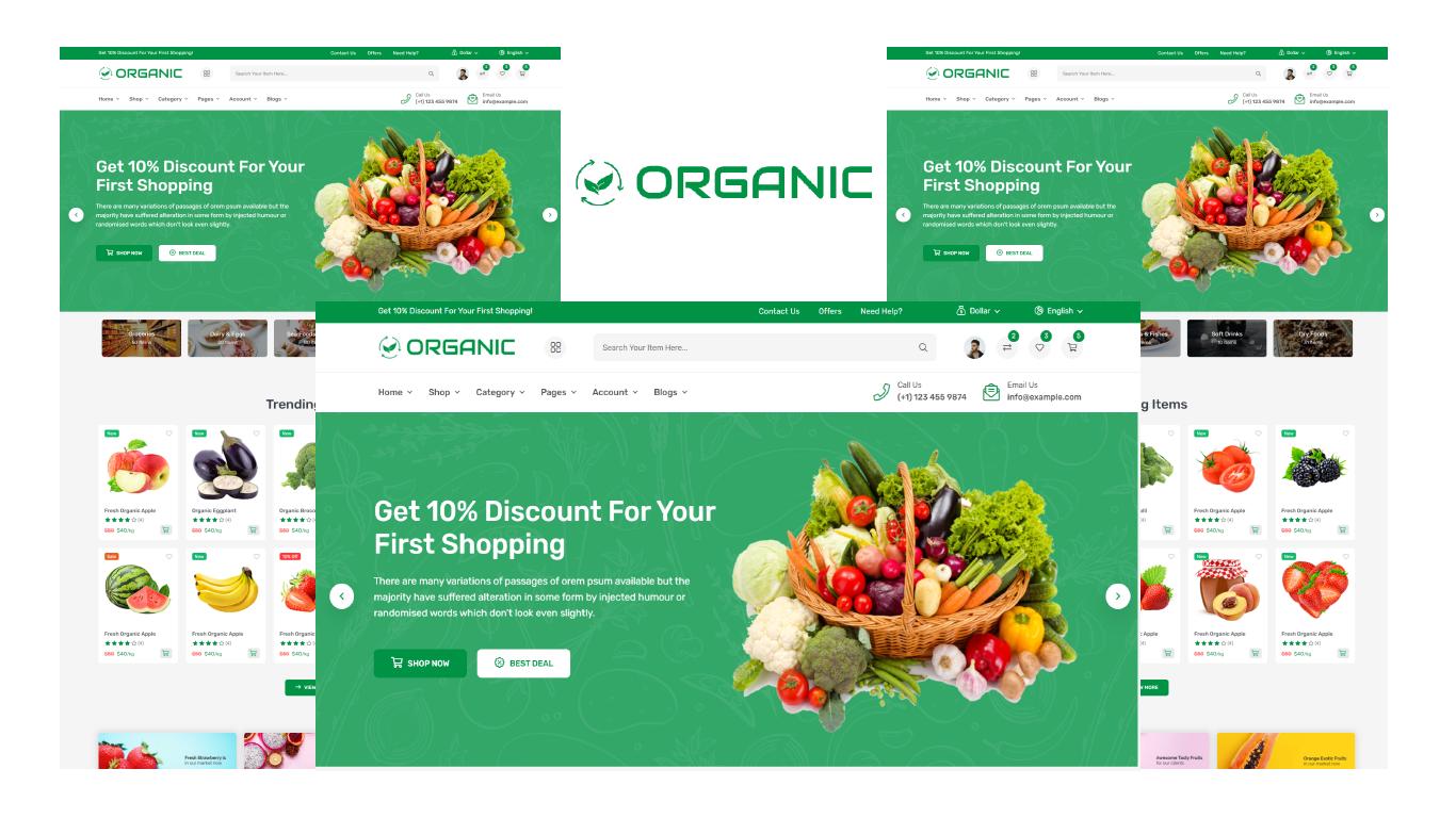 Organic - Organic Food Shop Bootstrap 5 HTML5 Template