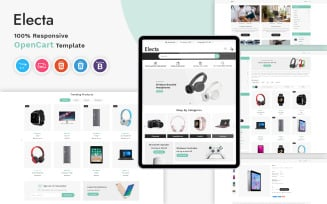 Electa - Electronics Responsive OpenCart Template
