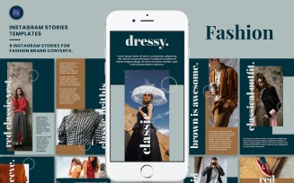 Fashion - Instagram Stories Template