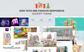Toti - Kids Toys & Fashion Responsive Shopify Theme