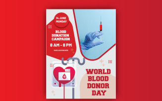 World Blood Donation Day Flyer