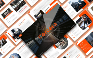 Corcesa – Business Keynote Template Presentation