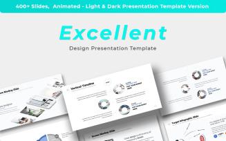 Excellent - Design Presentation Keynote Template