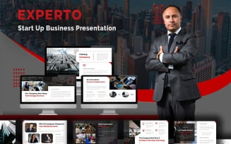 Experto - Start Up Business Keynote Template