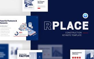 RPLACE Construction Modern Keynote Template