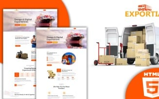 Expotia - Transportation and Logistic Html Template