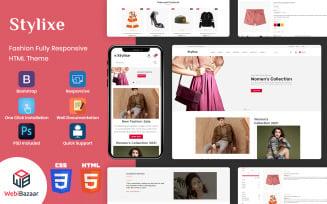 Stylixe - Multipurpose Premium HTML5 Website Template