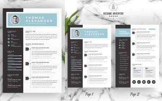 Thomas / Printable Resume Templates