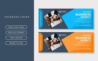 Business facebook Cover Design Template