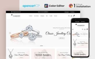 Elements Jewellery Opencart Theme