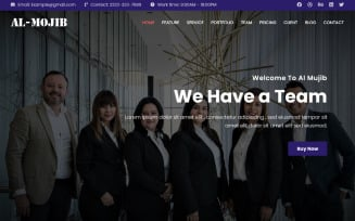 Responsive - Free Busniess Landing Page Template