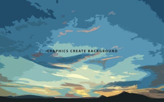 Sky Background Template - Background Template