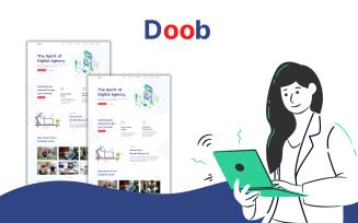 Doob - Digital Agency Html Landing Page Template